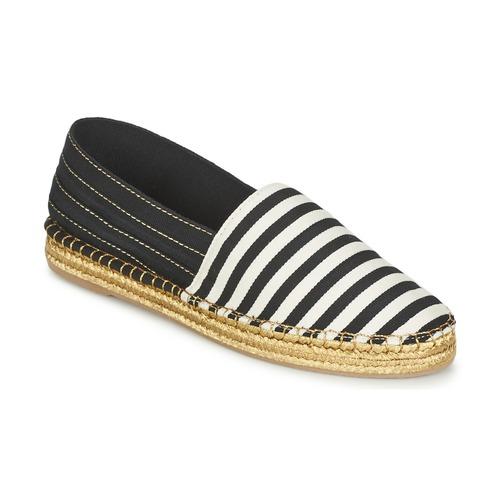 Marc Jacobs SIENNA Noir / Blanc - Livraison Gratuite avec  - Chaussures Espadrilles Femme