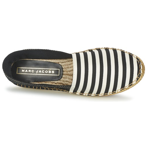Chaussures Sienna Espadrilles Jacobs NoirBlanc Femme Marc Kc3l1JFT