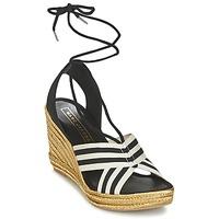 Chaussures Femme Sandales et Nu-pieds Marc Jacobs DANI Noir / Blanc