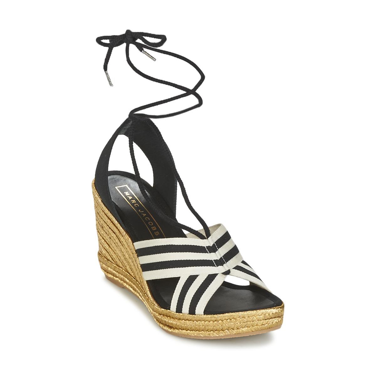 Sandale Marc Jacobs DANI Noir / Blanc