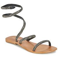 Chaussures Femme Sandales et Nu-pieds Café Noir CAMPIBALO Gris