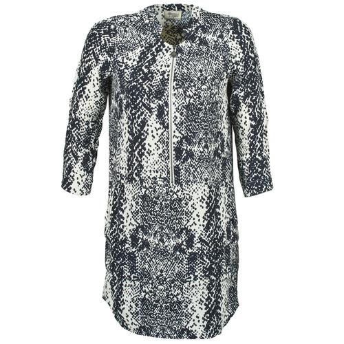 Vêtements Femme Robes courtes Stella Forest EDERI Marine / Blanc