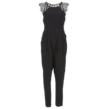 Vêtements Femme Combinaisons / Salopettes Stella Forest ONDONI Noir