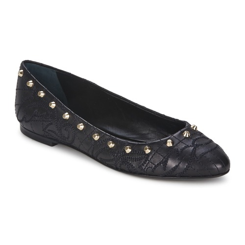 Chaussures Femme Ballerines / babies Versace DSL787C Noir / Or