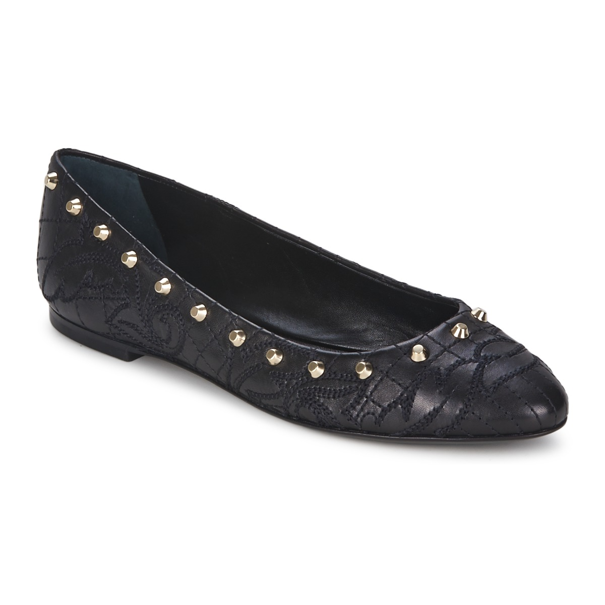 Ballerines Versace DSL787C Noir / Or