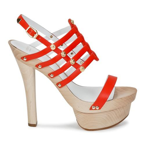 Rouge Dsl943t Sandales Et Nu pieds Versace Femme vnmN0w8O