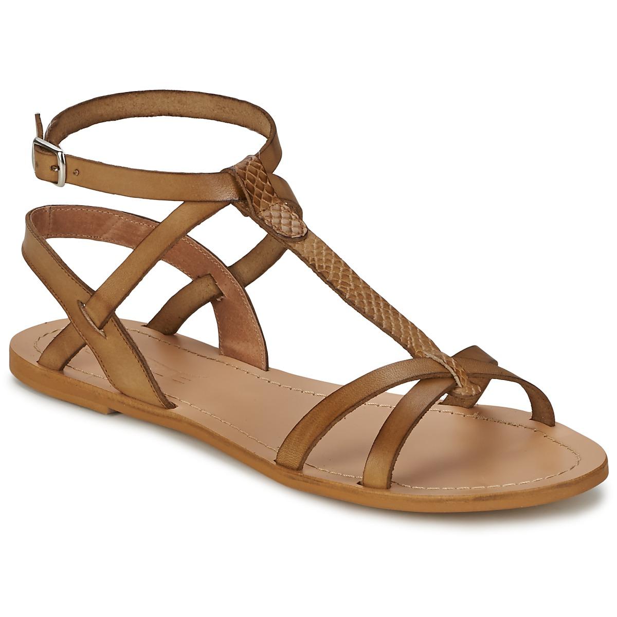 Sandale So Size BEALO Marron
