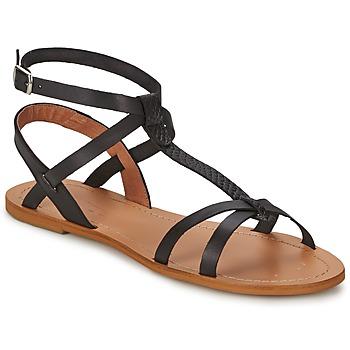 Chaussures Femme Sandales et Nu-pieds So Size BEALO Noir