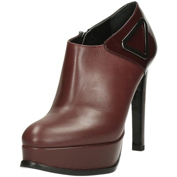 Chaussures Femme Low boots Guido Sgariglia 33060 Tronchetti Bordeaux