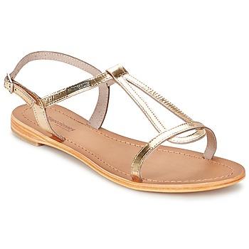 Sandale Les Tropéziennes par M Belarbi HAMESS Or 350x350