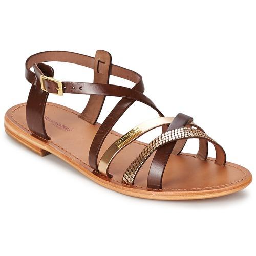 Chaussures Femme Sandales et Nu-pieds Les Tropéziennes par M Belarbi HAPAX Marron / Or