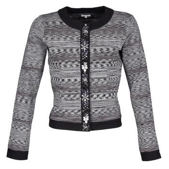 Vêtements Femme Vestes / Blazers Manoush BIJOU VESTE Noir / Gris