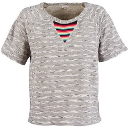 Vêtements Femme T-shirts manches courtes Manoush ETNIC SWEAT Gris