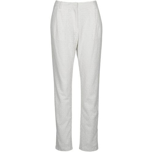 Pantalons Manoush FLOWER BADGE Blanc 350x350