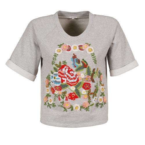 Vêtements Femme T-shirts manches courtes Manoush GIPSY Gris