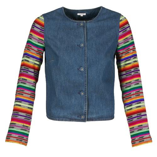 Vêtements Femme Vestes / Blazers Manoush INDIAN DENIM Bleu