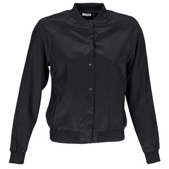 Vêtements Femme Blousons Manoush TEDDY FLEUR SIATIQUE Noir