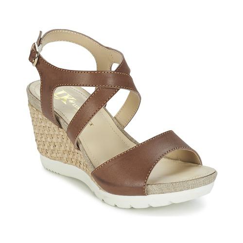 Chaussures Femme Sandales et Nu-pieds Lumberjack SISSI Marron / Beige