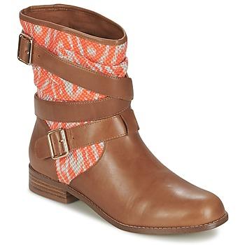 Bottines / Boots Mellow Yellow VABELO Marron / Orange 350x350
