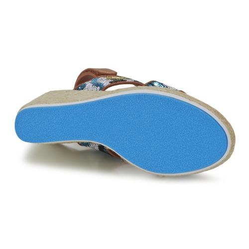 Nu Et pieds Bleu Mellow Sandales Femme Vabliss Yellow lcTK1JuF35