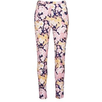 Vêtements Femme Pantalons 5 poches Gant 414705 Rose / Bleu
