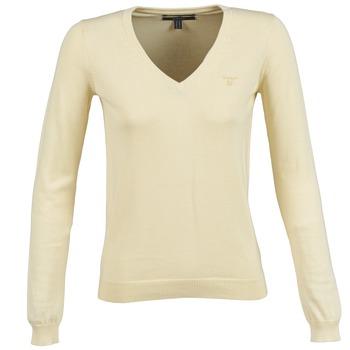 Vêtements Femme Pulls Gant 483022 Jaune