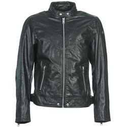 Vêtements Homme Vestes en cuir / synthétiques Diesel L-REED Noir