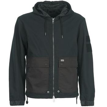 Vêtements Homme Blousons Diesel J-DAN-MIX Noir / Marron