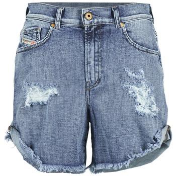 Vêtements Femme Shorts / Bermudas Diesel DE SCOTT Bleu