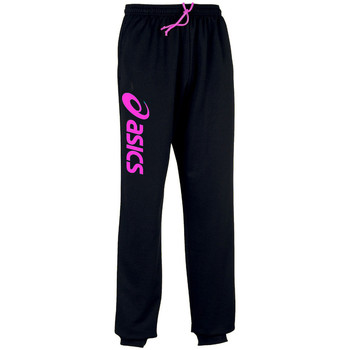 Vêtements Pantalons de survêtement Asics Sigma-Pantalon Black/Flash Pink