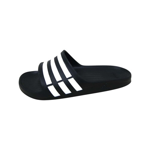 Chaussures Sandales sport adidas Performance Duramo Slide Noir / Blanc / Noir