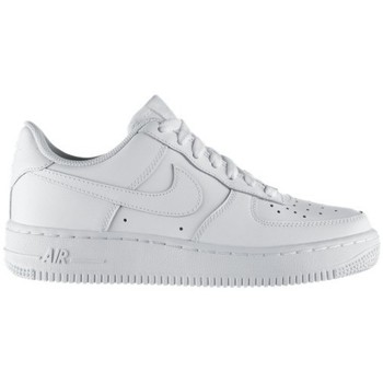Chaussures Enfant Baskets basses Nike AIR FORCE LOW GS BLANC