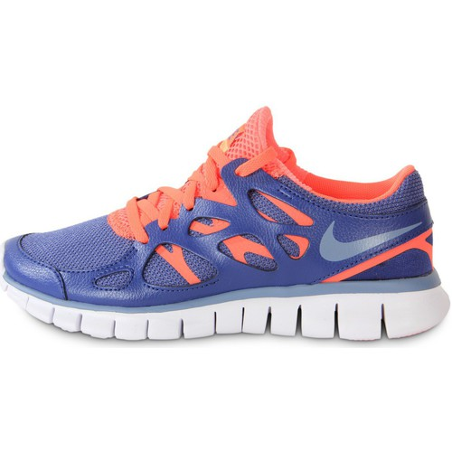 Chaussures Femme Baskets mode Nike Free Run 2 Ext Blue Legend Bleu/Orange