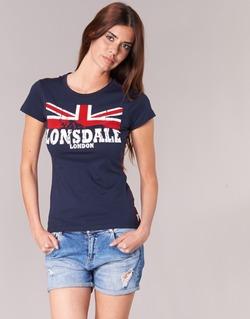 Vêtements Femme T-shirts manches courtes Lonsdale ERYKAH Bleu