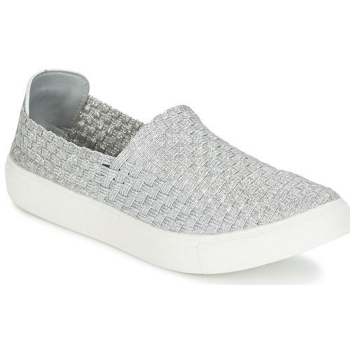 Chaussures Femme Baskets basses Moony Mood ESMINE Argent