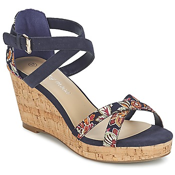Chaussures Femme Sandales et Nu-pieds Moony Mood EMARLENE Marine