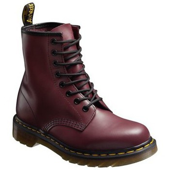 Chaussures Homme Boots Dr Martens Smooth 1460 BORDEAUX