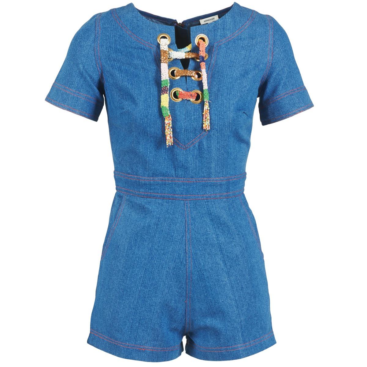 Combinaisons Manoush LACET Bleu Jean