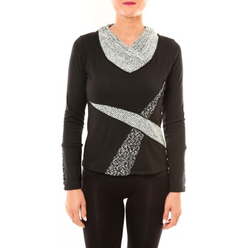 T-shirts manches longues Bamboo's Fashion Top BW632 noir