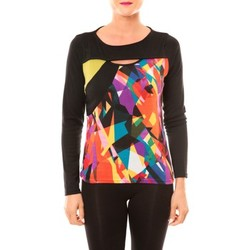 T-shirts manches longues Bamboo's Fashion Top BW623 noir