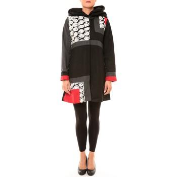 Vêtements Femme Manteaux Bamboo's Fashion Manteau BW670 noir Noir
