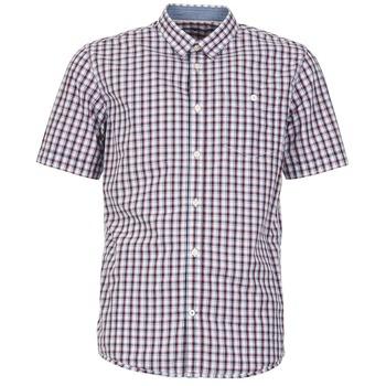 Vêtements Homme Chemises manches courtes Tom Tailor CATHARINI Blanc / Rouge / Noir