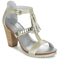 Chaussures Femme Sandales et Nu-pieds Regard ROKOLO Platine