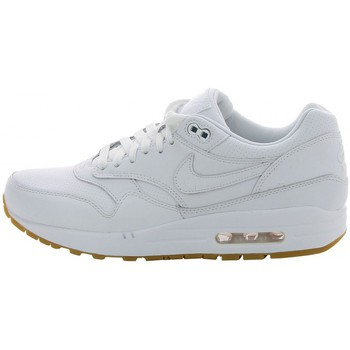 Chaussures Homme Baskets basses Nike Air Max 1 Leather Blanc