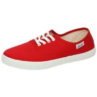 Chaussures Femme Baskets basses Javer  Rouge