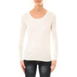 Vêtements Femme Pulls Nina Rocca Pull MC7033 blanc Blanc