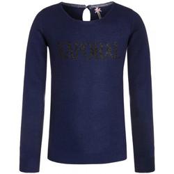 Vêtements Fille T-shirts manches longues Kaporal T-Shirt fille manches longues  Ejane Trueblue Bleu
