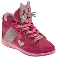 Chaussures Enfant Baskets montantes Lelli Kelly Gattino Rosa