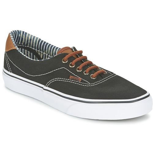 Chaussures Baskets basses Vans ERA 59 Noir / Rayures denim
