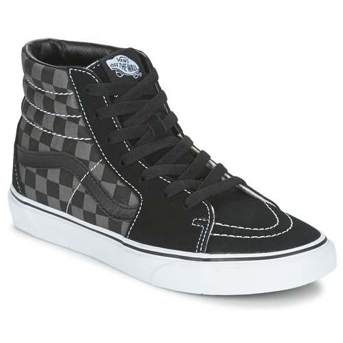 Chaussures Baskets montantes Vans SK8-HI Gris / Marron